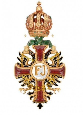 """Ordinul imperial austriac """"Franz Joseph"""" a fost fondat la 2 decembrie 1849 de către împăratul Franz Joseph I și acordat ca un premiu pentru merite militare și civile. Fundația a avut loc la prima aniversare a întronării lui - foto: ro.wikipedia.org"""