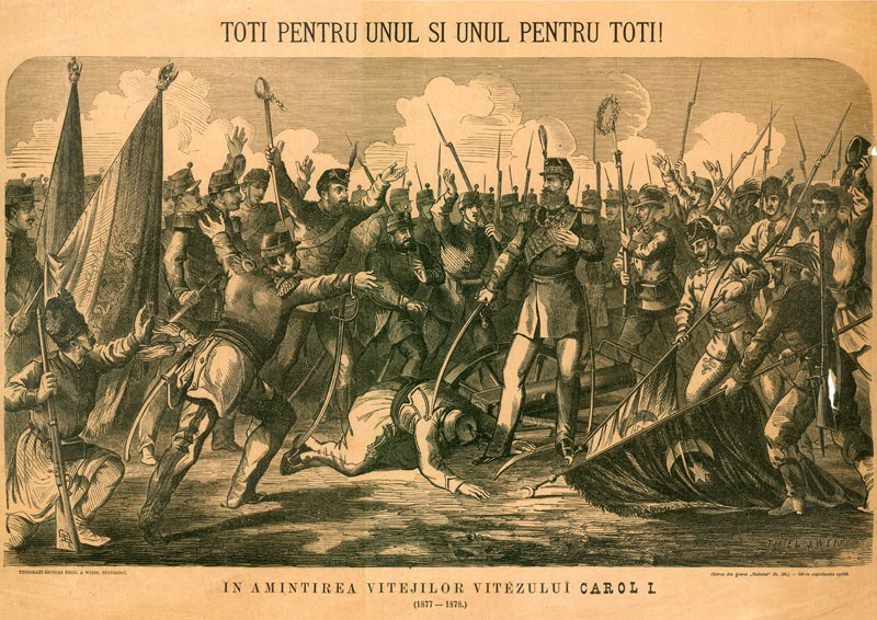 Războiul de Independență de la 1877 - foto: cersipamantromanesc.wordpress.com