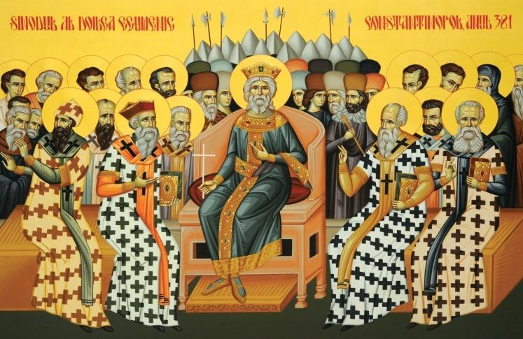 Sfinții Părinți de la Sinodul al II-lea Ecumenic (381 d.Hr - Constantinopol) - foto preluat de pe ziarullumina.ro