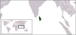 Sri Lanka este o țară insulară asiatică, situată în sudul Asiei, în Oceanul Indian. Are coaste la Golful Bengal, în est, Oceanul Indian în sud și vest și Strâmtoarea Palk în nord-est, care o separă de India. Capitala Sri Lankăi este Colombo. Până în 1972 se numea Ceilon (Ceylon) - foto preluat de pe ro.wikipedia.org