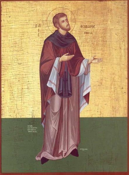 Sfântul Cuvios Teodor cel Sfințit (16 mai) - foto preluat de pe doxologia.ro