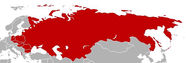 Pactul de la Varșovia (14 mai 1955 - 1 iulie 1991) - Statele membre ale Tratatului de la Varșovia - foto preluat de pe ro.wikipedia.org