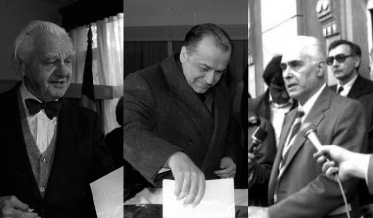 Alegerile de la 20 mai 1990 - foto: vreaupresedinte.gandul.info
