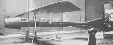 Avionul cu reacţie al lui Coandă (realizat în 1910) - Coandă-1910 - foto preluat de pe ro.wikipedia.org