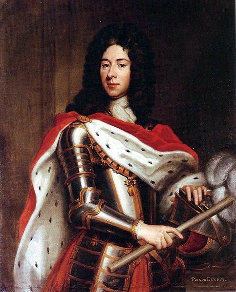 Eugen de Savoia-Carignano, sau Eugeniu de Savoia, cunoscut şi ca Prinţul Eugen (n. 18 octombrie 1663, Paris - d. 21 aprilie 1736, Viena), a fost unul din cei mai străluciţi feldmareşali ai Sfântului Imperiu Roman. Lui i se datorează în bună măsură ridicarea Austriei ca mare putere în cadrul Sfântului Imperiu Roman, iar apoi poziţia hegemonă a Ţărilor Ereditare Austriece (ale Casei de Habsburg) în plan european - foto preluat de pe en.wikipedia.org