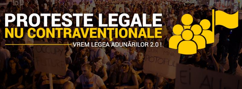 Legea Adunarilor 2.0 - foto: facebook.com