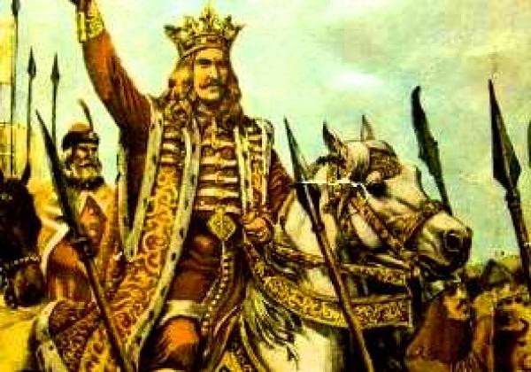 Ștefan al III-lea, supranumit Ștefan cel Mare (n. 1433, Borzești - d. 2 iulie 1504, Suceava), fiul lui Bogdan al II-lea, a fost domnul Moldovei între anii 1457 și 1504. A domnit 47 de ani, durată care nu a mai fost egalată în istoria Moldovei. În timpul său, a dus lupte împotriva mai multor vecini, cum ar fi Imperiul Otoman, Regatul Poloniei și Regatul Ungariei. Biserici și mănăstiri construite în timpul domniei sale sunt astăzi pe lista locurilor din patrimoniul mondial - foto preluat de pe historia.ro