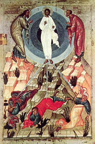 Schimbarea la faţă a lui Iisus Hristos - foto preluat de pe ro.wikipedia.org