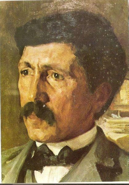 Alexandru Vlahuță - pictură de Ipolit Strâmbescu - foto: prinfocsani.net