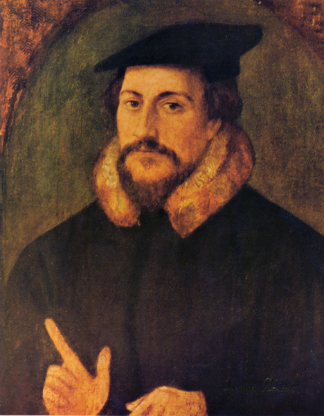 John Calvin - Portrait attributed to Hans Holbein the Younger - fotol: en.wikipedia.org