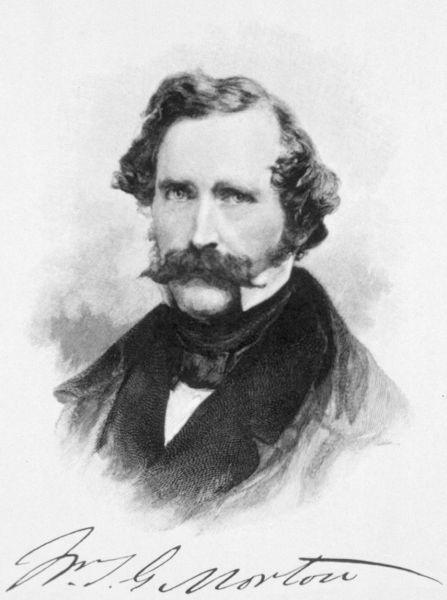 William Thomas Green Morton (August 9, 1819 – July 15, 1868) - foto: en.wikipedia.org