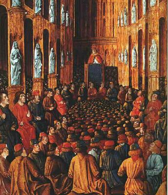 Papa Urban al II-lea la Conciliul de la Clermont - foto: ro.wikipedia.org
