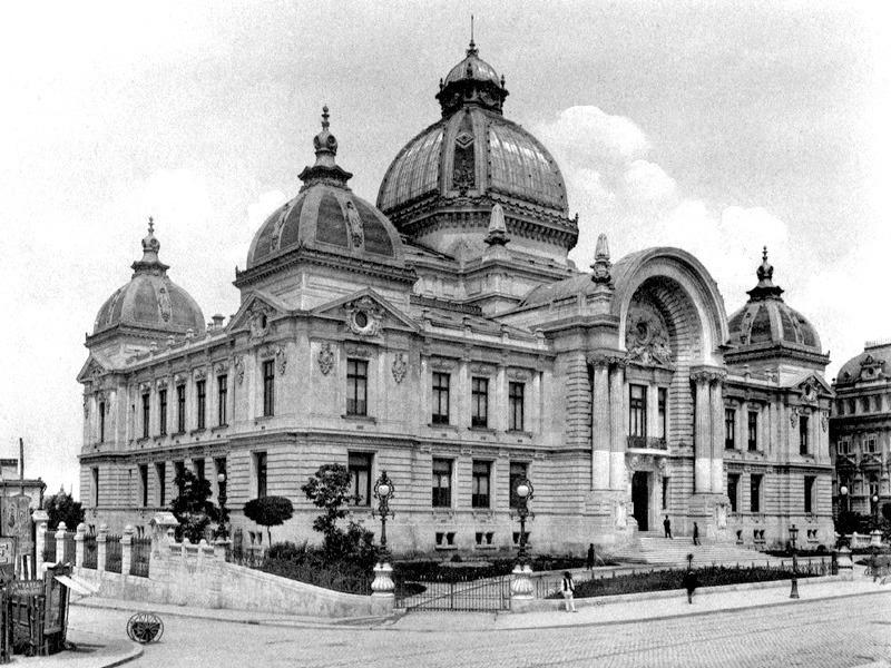 Casa de Economii și Consemnațiuni la 1900 - foto preluat de pe ro.wikipedia.org