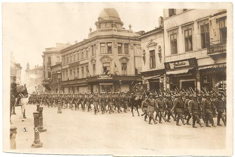 1 decembrie 1916: Administraţia militară germano-austro-ungară se instalează la Bucureşti, dupa retragerea in Moldova a armatei si administratiei romanesti - foto: cersipamantromanesc.wordpress.com