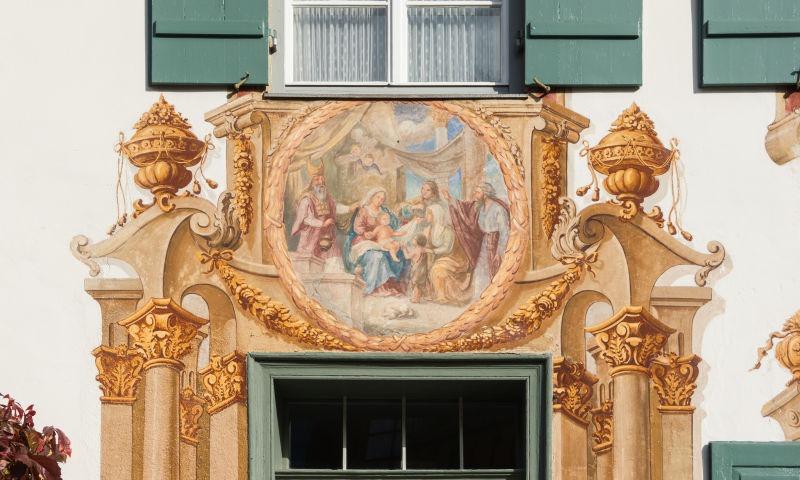 ntâlnirea dintre Mântuitorul Isus Cristos si Sfântul Ioan Botezatorul la o vârstă fragedă - foto preluat de pe ro.wikipedia.org