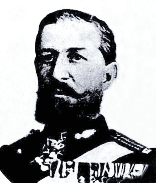 Iuliu Dunca, născut ca Iulius Dunca de Sajó (Şieu), (n. 7 ianuarie 1825, Botoşani – d. 24 decembrie 1907, Lausanne) a fost un general de brigadă român, comandant de diferite divizii române şi prefect al judeţului Constanţa - foto preluat de pe ro.wikipedia.org
