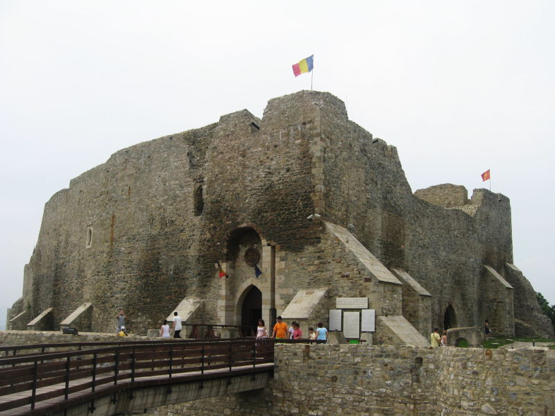 Cetatea Neamțului - foto preluat de pe ro.wikipedia.org