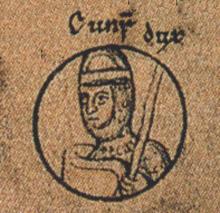 Conrad al II-lea (n. 12 februarie 1074, abația Hersfeld – d. 27 iulie 1101, Florența) a fost rege al Germaniei între 1087 și 1098 și rege al Italiei de la 1093 la 1098 - foto preluat de pe ro.wikipedia.org