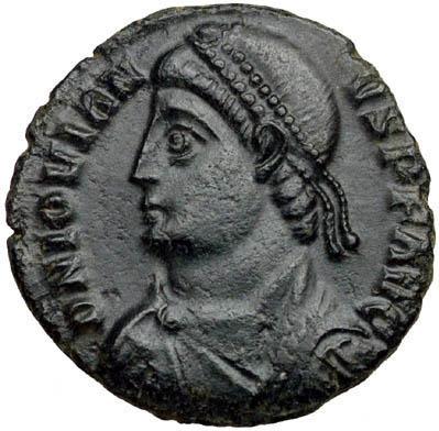Solidus of emperor Jovian - foto preluat de pe en.wikipedia.org