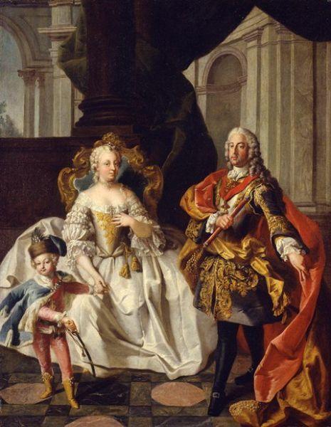 Maria Tereza și soțul ei, Francisc Ștefan - foto preluat de pe ro.wikipedia.org