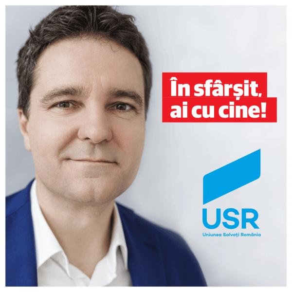 Nicușor Dan - Deputat Uniunea Salvați România - foto: facebook.com