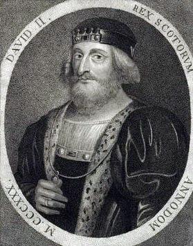 David al II-lea (n. 5 martie 1324 – d. 22 februarie 1371, Castelul Edinburgh) a fost rege al Scoţiei din 7 iunie 1329 până la moartea sa - foto preluat de pe ro.wikipedia.org