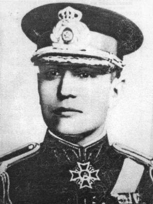 Gheorghe Mihail (n. 13 martie 1887, Brăila - d. 2 februarie 1982, Sinaia) a fost un general de armată român, numit Şeful Statului Major la 23 August 1944 - foto preluat de pe ro.wikipedia.org