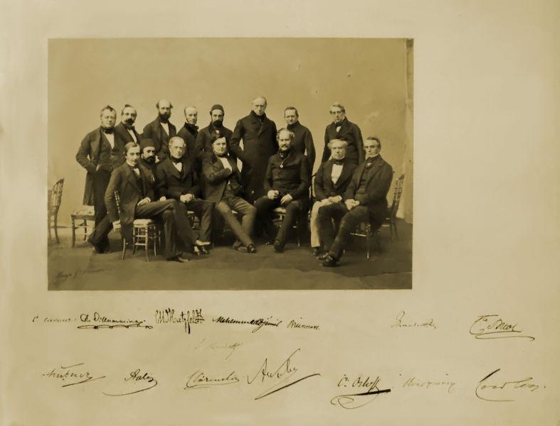 Participants of the Congress of Paris, 1856 - foto preluat de pe en.wikipedia.org