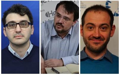 Adrian Prisnel, Cristian Ghinea si Tudor Benga Foto: Colaj / Sursa foto: cdep.ro, Hotnews.ro