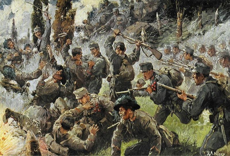 Battle of Doberdò (6 August 1916) Part of the Italian Front of the First World War - foto preluat de pe en.wikipedia.org