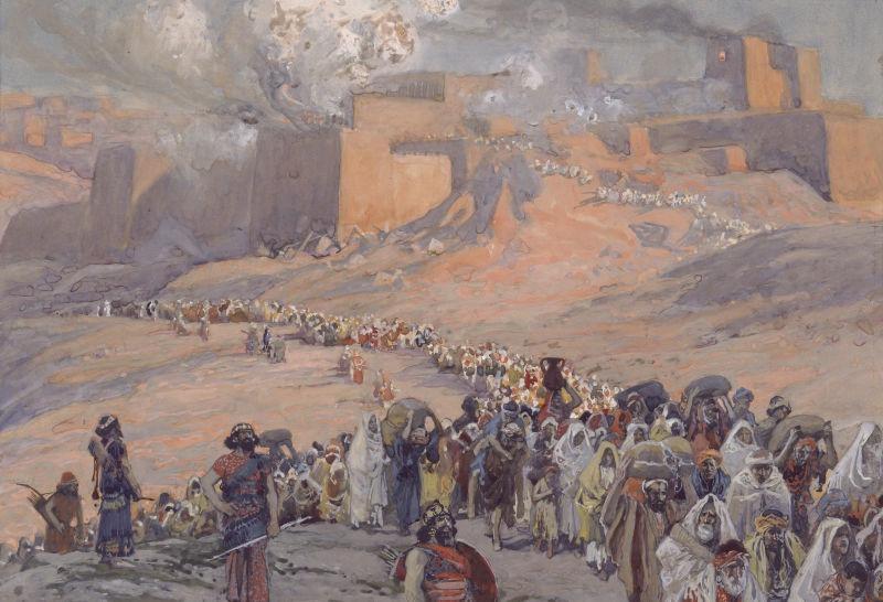 The Flight of the Prisoners - by James Tissot - foto preluat de pe en.wikipedia.org