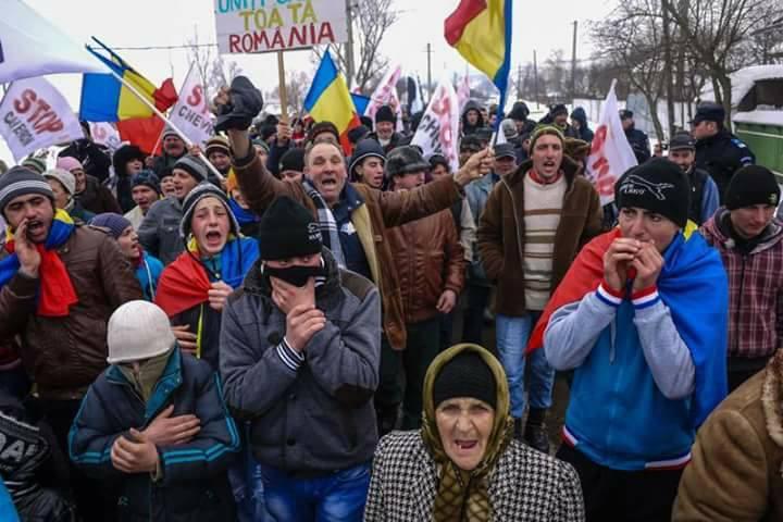 Revolta de la Pungești (2013) - foto: facebook.com