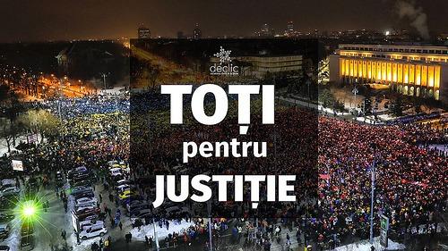 Toți pentru Justiție - foto preluat de pe declic.ro