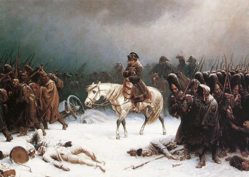 Bătălia de la Berezina (26 - 29 noiembrie 1812) - parte din războaiele napoleoniene - Campania din Rusia (1812) - foto preluat de pe ro.wikipedia.org