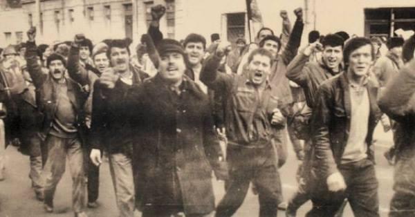 Revolta anticomunistă de la Brașov (15 noiembrie 1987) - foto preluat de pe facebook.com