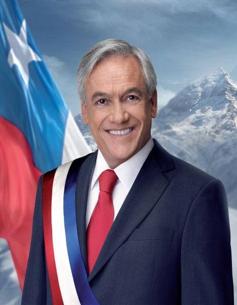Miguel Juan Sebastián Piñera Echeñique (n. 1 decembrie 1949, Santiago de Chile) este un politician chilian. A fost preşedinte al statului Chile între anii 2010 şi 2014 - foto preluat de pe ro.wikipedia.org