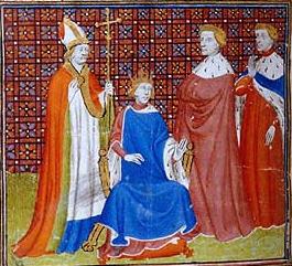 Filip al V-lea (n. 1292 / 93 - d. 3 ianuarie 1322), supranumit Lunganul (franceză: Le Long), a fost rege al Franței și al Navarrei (ca Filip al II-lea) și Contele de Champagne, începând cu 1316 și până la moartea sa - (Philip engineered a hasty coronation after the death of his nephew, the young John I, to build support for his bid for the French throne in 1316-17) - foto preluat de pe en.wikipedia.org
