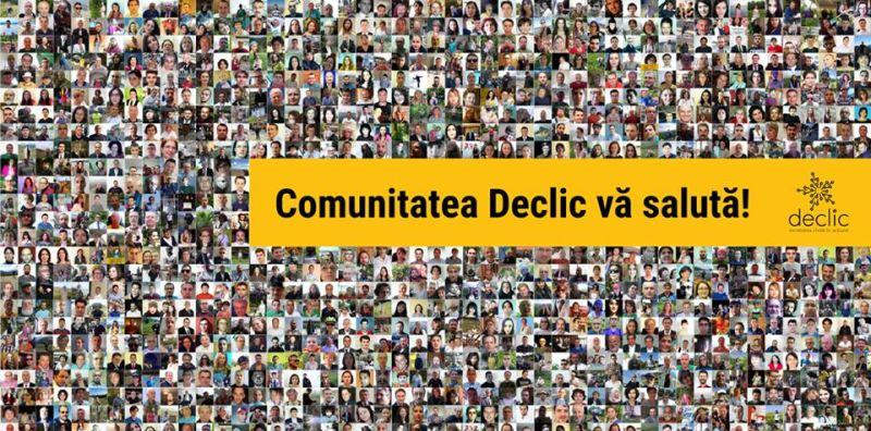 Declic - societatea civilă în acțiune - foto preluat de pe www.facebook.com/de.clic.ro