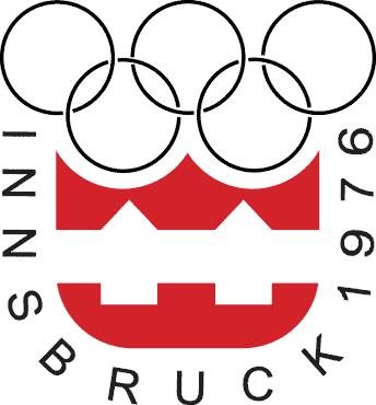 Jocurile Olimpice de iarnă din 1976 (Emblema conţine stema oraşului Innsbruck şi cercurile Olimpice, simbolul competiţiei) - foto preluat de pe ro.wikipedia.org