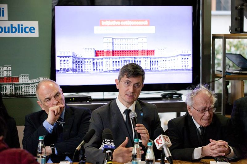 USR anunță crearea Grupului de inițiativă al campaniei Fără penali în funcții publice - foto preluat de pe facebook.com/Uniunea Salvați România - USR