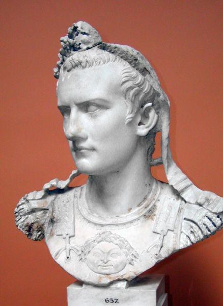 Caligula (latină: Caius Iulius Caesar Augustus Germanicus, 31 august 12 d.Hr. - 24 ianuarie 41 d.Hr.), de asemenea, cunoscut sub numele de Gaius, a fost Împărat Roman intre anii 37-41 - foto preluat de pe ro.wikipedia.org