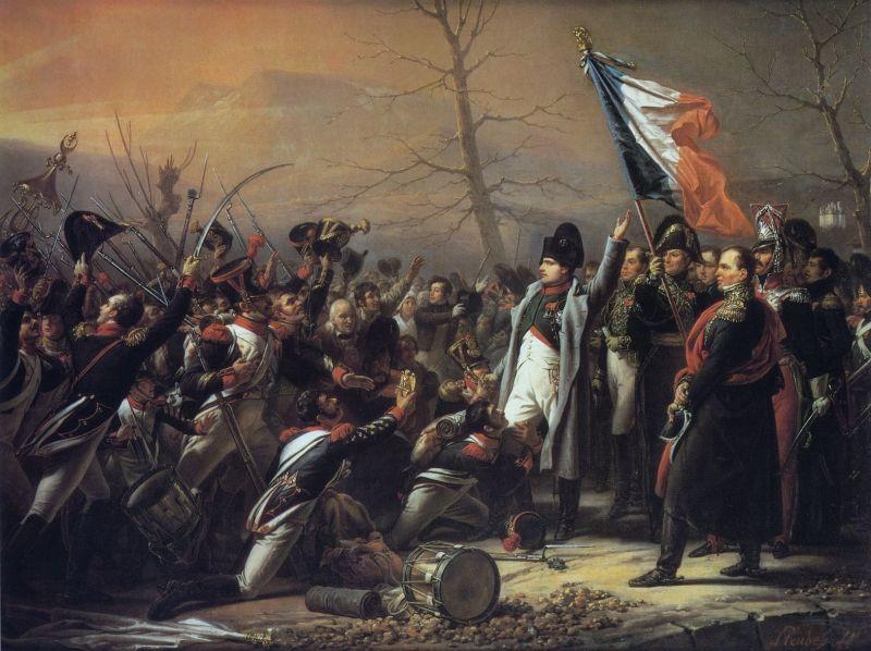Napoleon's return from Elba, by Charles de Steuben - foto preluat de pe en.wikipedia.org