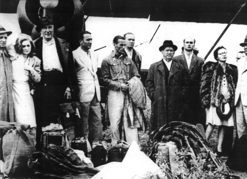 Înscenarea de la Tămădău sau Afacerea Tămădău (14 iulie 1947) - foto preluat de pe cersipamantromanesc.wordpress.com