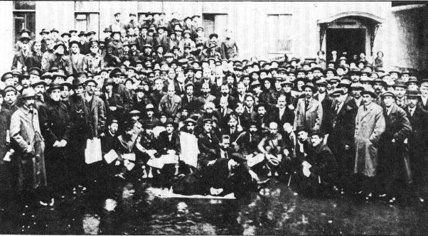 Greva generală din România, octombrie 1920 - foto preluat de pe evz.ro