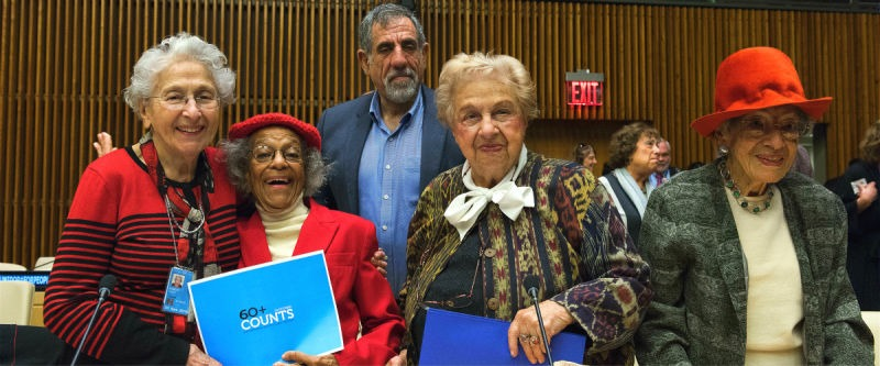 "Participants of the Special event on ""Sustainability and Age Inclusiveness in the Urban Environment"" (on the occasion of the International Day of Older Persons), UN Headquarters', Oct. 2015. UN Photo/Kim Haughton - foto preluat de pe www.un.org"