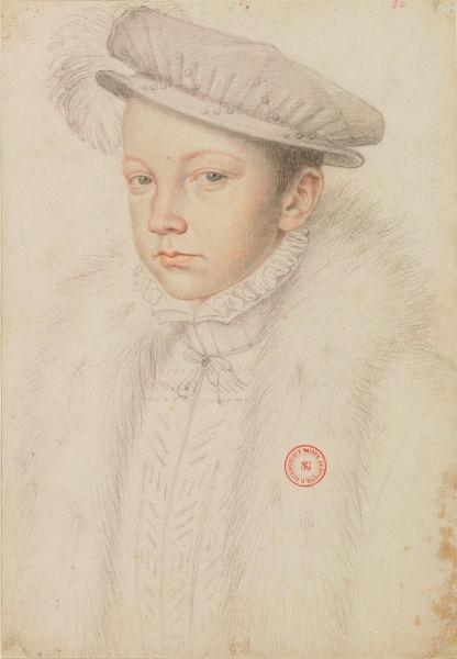 Francisc al II-lea (franceză François II (n. 19 ianuarie 1544 - d. 5 decembrie 1560), a fost rege al Franței între anii 1559 și 1560, fiind fiul cel mare al lui Henric al II-lea și al Caterinei de Medici (Portrait by François Clouet) - foto preluat de pe ro.wikipedia.org