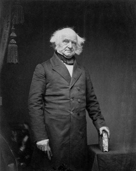 Martin Van Buren (n. 5 decembrie 1782, Kinderhook, New York[*], SUA – d. 24 iulie 1862, Kinderhook, New York, SUA), numit și Old Kinderhook, a fost cel de-al optulea vicepreședinte și cel de-al optulea președinte al Statelor Unite ale Americii - foto preluat de pe en.wikipedia.org