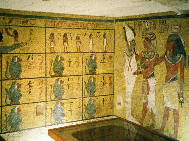 Mormântul faraonului Tutankamon - foto preluat de pe ro.wikipedia.org