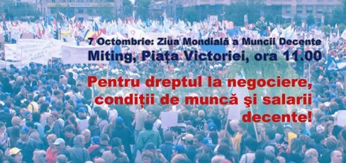 Miting la Guvern