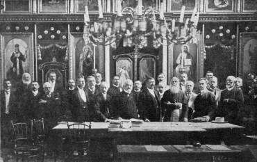 ASTRA in Simleu Silvaniei, August 1908 - foto: cersipamantromanesc.wordpress.com